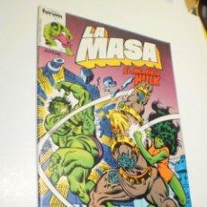 Cómics: LA MASA EL INCREÍBLE HULK Nº 19 FORUM 1983 (BUEN ESTADO, SEMINUEVO). Lote 210161481