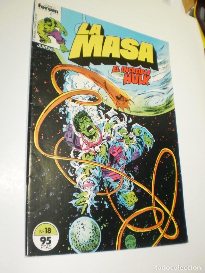 LA MASA EL INCREÍBLE HULK Nº 18 FORUM 1983 (BUEN ESTADO, SEMINUEVO) (Tebeos y Comics - Forum - Hulk)