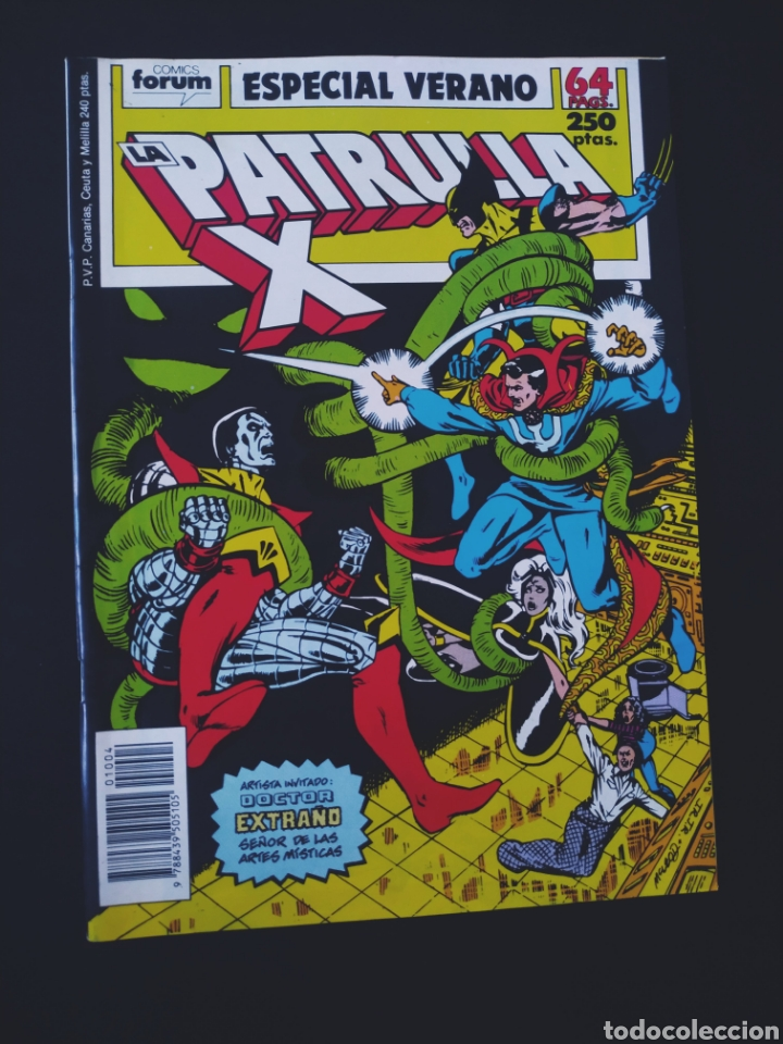 EXCELENTE ESTADO PATRULLA X ESPECIAL VERANO FORUM (Tebeos y Comics - Forum - Patrulla X)