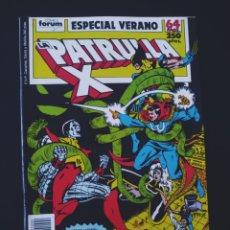Cómics: EXCELENTE ESTADO PATRULLA X ESPECIAL VERANO FORUM. Lote 210169067
