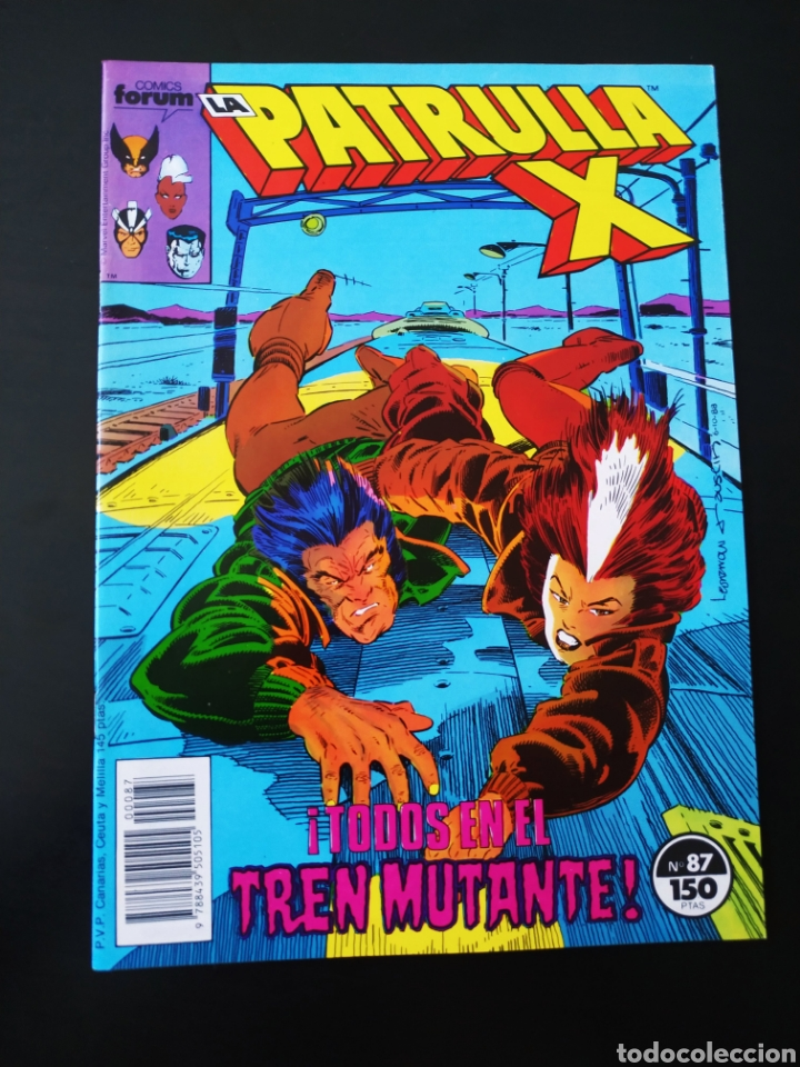 EXCELENTE ESTADO LOS 4 FANTASTICOS 87 FORUM (Tebeos y Comics - Forum - Patrulla X)