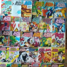 Cómics: ALPHA FLIGHT VOL 1 25 GRAPAS 4 RETAPADOS 1 ESPECIAL. Lote 210217185