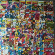 Cómics: FACTOR X 1 AL 38, 41 AL 70,72,73,74 MAS 6 ESPECIALES 77 GRAPAS. Lote 210219055