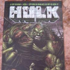 Cómics: EL FIN DE HULK. Lote 210221953