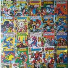 Cómics: LOS VENGADORES SEGUNDA EDICION CASI COMPLETA 28 GRAPAS SOLO FALTAN 23,25,26. Lote 210294322