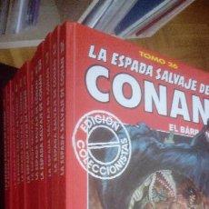 Cómics: LA ESPADA SALVAJE DE CONAN - EDICIÓN COLECCIONISTA (12 TOMOS). Lote 210302023