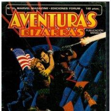 Cómics: AVENTURAS BIZARRAS Nº 10. FORUM,1983.. Lote 210343932
