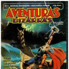 Cómics: AVENTURAS BIZARRAS Nº 7. FORUM,1983.. Lote 210344008
