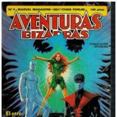 Cómics: AVENTURAS BIZARRAS Nº 4. FORUM,1983.. Lote 210344093
