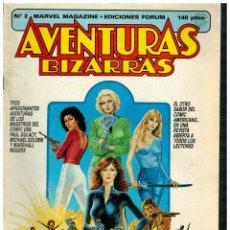 Cómics: AVENTURAS BIZARRAS Nº 2. FORUM,1983.. Lote 210344233
