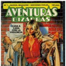 Cómics: AVENTURAS BIZARRAS Nº 1. FORUM,1983.. Lote 210344298