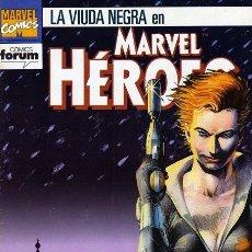 Cómics: MARVEL HEROES NUM. 70 - LA VIUDA NEGRA. Lote 210347560