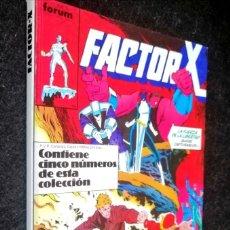 Cómics: FACTOR X - DEL 6 AL 10 RETAPADOS - FORUM ''BUEN ESTADO'' (5 FOTOS). Lote 210409868