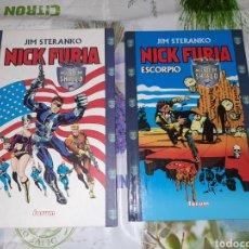 Comics: NICK FURIA DE JIM STERANKO AGENTE DE S.H.I.E.L.D. Y ESCORPIO. Lote 210421386
