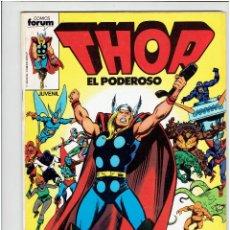 Cómics: * COMIC: THOR * EL PODEROSO Nº 1 Y 2 * EDICIONES FORUM. 1983 *. Lote 210421741