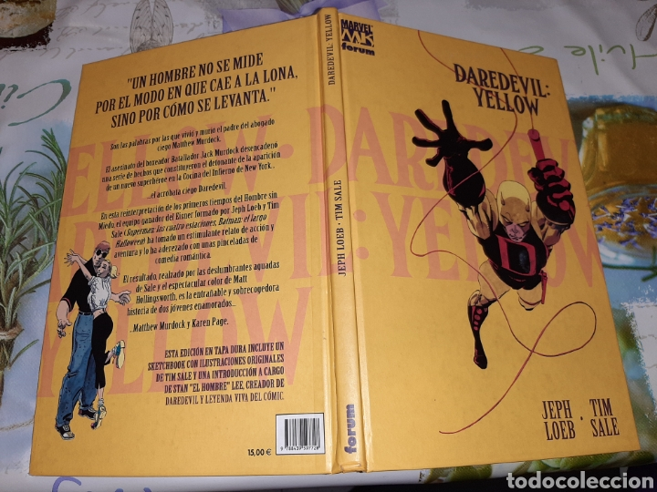 Cómics: Daredevil Yellow Jeff Loeb y Tim Sale - Foto 2 - 210421825