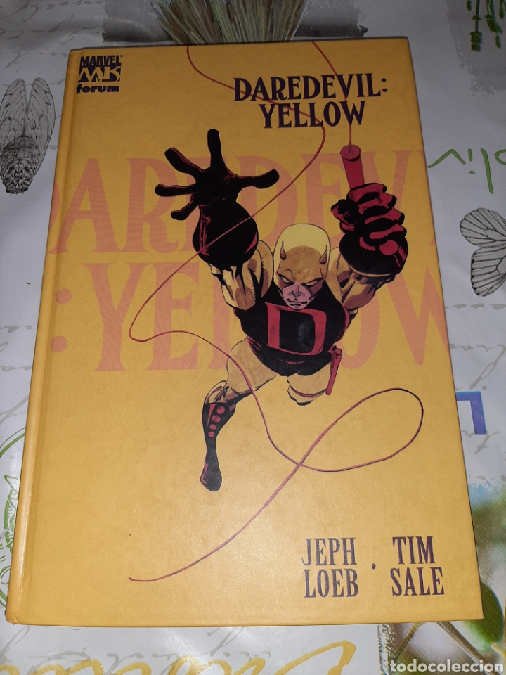 DAREDEVIL YELLOW JEFF LOEB Y TIM SALE (Tebeos y Comics - Forum - Daredevil)