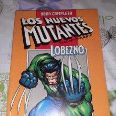 Cómics: LOS NUEVOS MUTANTES LOBEZNO VERDAD O MUERTE RETAPADO DE FORUM. Lote 210422858