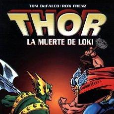 Cómics: THOR: LA MUERTE DE LOKI - TOMO FORUM.. Lote 210538948
