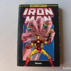 Cómics: IRON MAN, OBRA COMPLETA, DEL 1 AL 15, RETAPADO. Lote 210559303