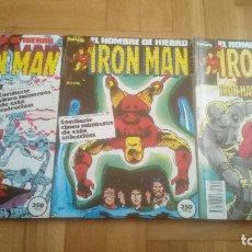 Cómics: IRON MAN. LOTE 3 RETAPADOS. DEL 26 AL 40.. Lote 210592935