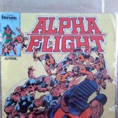 Cómics: ALPHA FLIGHT 4 PRIMER VOLUMEN FORUM. Lote 210638899