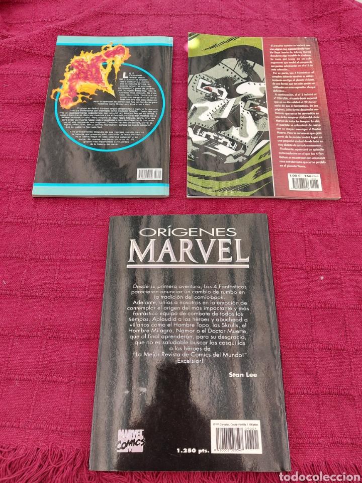 Cómics: ORÍGENES MARVEL THE FANTASTIC FOUR/LOS 4 FANTÁSTICOS DEL COMIC A LA PELÍCULA 1/JHON BYRNE 1/ - Foto 2 - 210648695