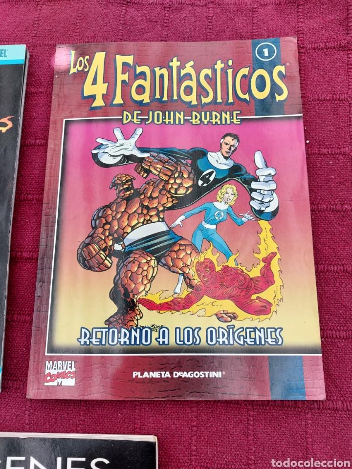 Cómics: ORÍGENES MARVEL THE FANTASTIC FOUR/LOS 4 FANTÁSTICOS DEL COMIC A LA PELÍCULA 1/JHON BYRNE 1/ - Foto 4 - 210648695