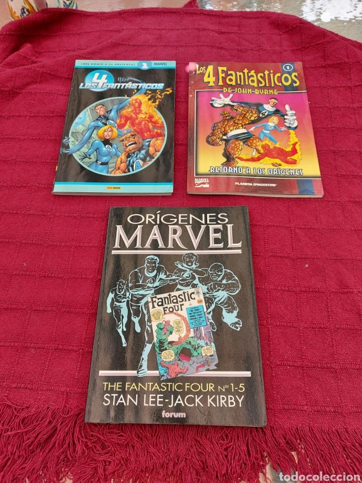 ORÍGENES MARVEL THE FANTASTIC FOUR/LOS 4 FANTÁSTICOS DEL COMIC A LA PELÍCULA 1/JHON BYRNE 1/ (Tebeos y Comics - Forum - 4 Fantásticos)