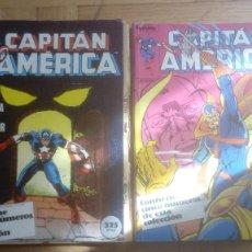 Cómics: CAPITAN AMERICA. FORUM. RETAPADOS 16 AL 20 Y 41 AL 45. Lote 210666540