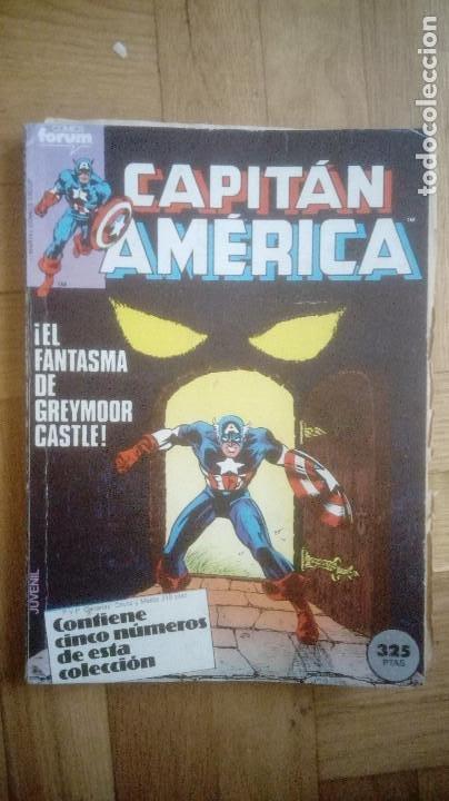 Cómics: CAPITAN AMERICA. FORUM. RETAPADOS 16 AL 20 Y 41 AL 45 - Foto 2 - 210666540