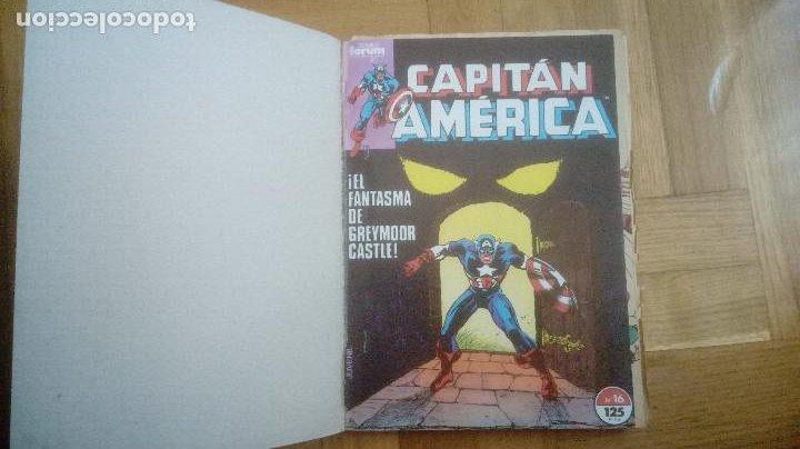 Cómics: CAPITAN AMERICA. FORUM. RETAPADOS 16 AL 20 Y 41 AL 45 - Foto 3 - 210666540