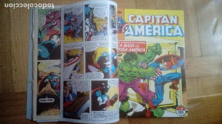 Cómics: CAPITAN AMERICA. FORUM. RETAPADOS 16 AL 20 Y 41 AL 45 - Foto 4 - 210666540