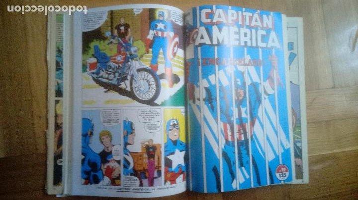 Cómics: CAPITAN AMERICA. FORUM. RETAPADOS 16 AL 20 Y 41 AL 45 - Foto 6 - 210666540