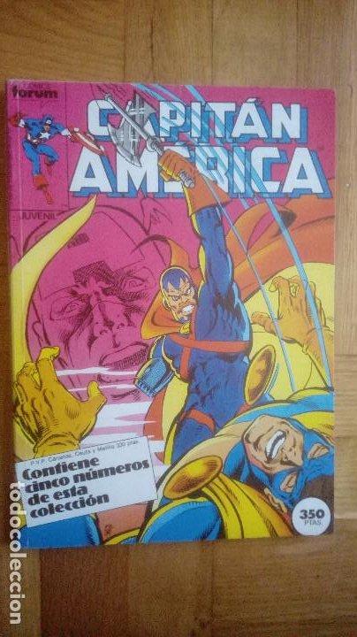 Cómics: CAPITAN AMERICA. FORUM. RETAPADOS 16 AL 20 Y 41 AL 45 - Foto 8 - 210666540
