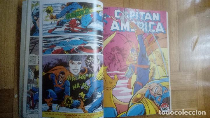 Cómics: CAPITAN AMERICA. FORUM. RETAPADOS 16 AL 20 Y 41 AL 45 - Foto 10 - 210666540