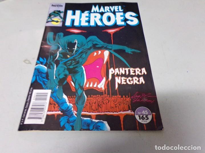 MARVEL HEROES NUMERO 45: PANTERA NEGRA (Tebeos y Comics - Forum - Otros Forum)