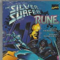 Cómics: SILVER SURFER RUNE - TOMO - PRECINTADO A ESTRENAR !!. Lote 210719801