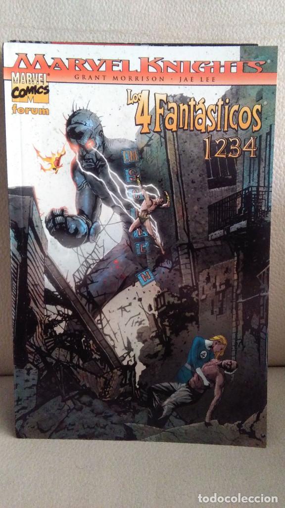 MARVEL KNIGHTS LOS 4 FANTASTICOS - 1234 (Tebeos y Comics - Forum - Prestiges y Tomos)