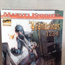 Cómics: MARVEL KNIGHTS LOS 4 FANTASTICOS - 1234. Lote 210724097