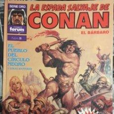 Cómics: LA ESPADA SALVAJE DE CONAN EL BARBARO Nº 11. SERIE ORO COMICS FORUM. SUPER CONAN 2º EDICION.. Lote 210724784