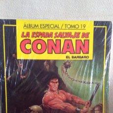 Cómics: ALBUM ESPECIAL/TOMO 19 LA ESPADA SALVAJE DE CONAN EL BARBARO. Lote 210724959