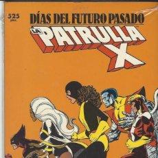 Cómics: PATRULLA X - DIAS DEL FUTURO PASADO - TOMO - PRECINTADO A ESTRENAR !!!. Lote 210739547