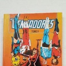 Cómics: LOS VENGADORES. TOMO 3 RETAPADO. CONTIENE LOS NUMEROS 11, 12, 13, 14, 15. COMICS FORUM. TDKC67. Lote 210739721