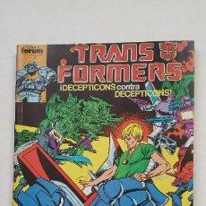 Cómics: TRANSFORMERS. RETAPADO CON LOS NUMEROS Nº 41 42 43 44 Y 45. COMICS FORUM. TDKC67. Lote 210740117