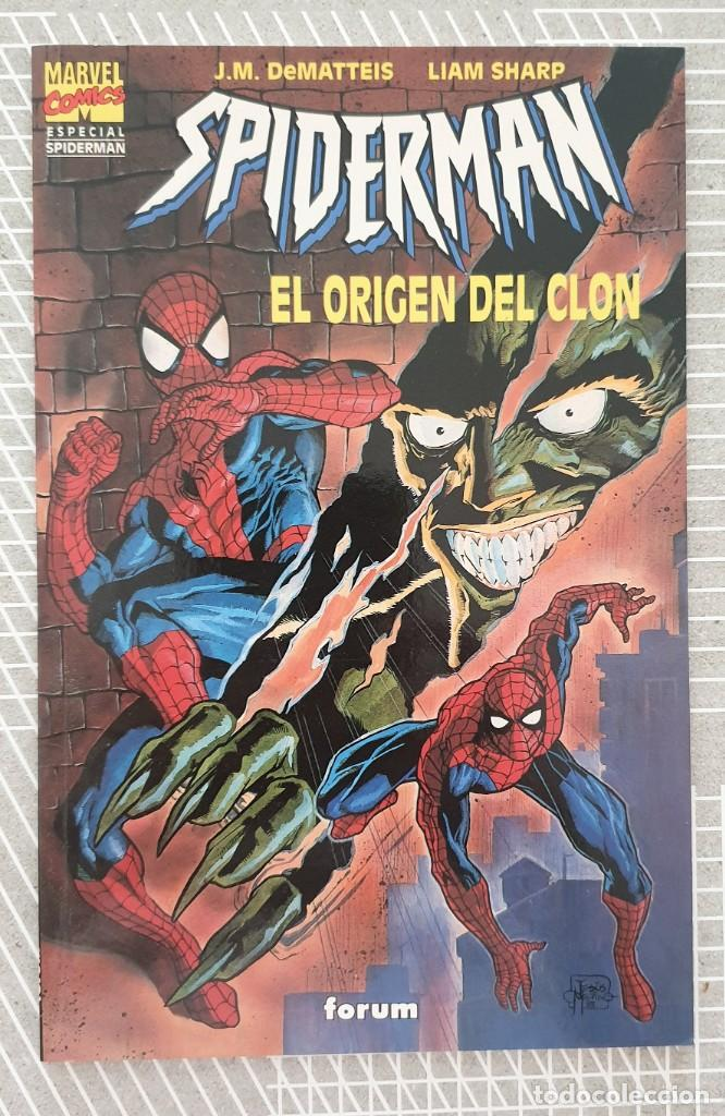 SPIDERMAN. EL ORIGEN DEL CLON. NUMERO UNICO. COMICS FORUM 1995 (Tebeos y Comics - Forum - Prestiges y Tomos)
