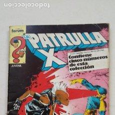 Cómics: LA PATRULLA X. NUMEROS 52, 53, 54, 55, 56. RETAPADO. COMICS FORUM. TDKC67. Lote 210761161