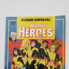 Cómics: ÁLBUM ESPECIAL MARVEL HEROES - RETAPADO - CONTIENE DOS NUMEROS EXTRA - FORUM. TDKC67. Lote 210767110