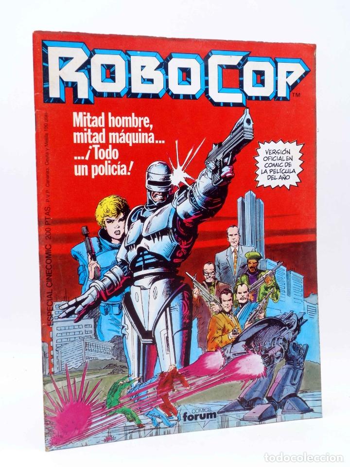 ROBOCOP. VERSIÓN OFICIAL EN COMIC. ESPECIAL CINECOMIC (HARRAS / SALTARES) FORUM, 1987. OFRT (Tebeos y Comics - Forum - Prestiges y Tomos)