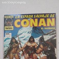 Cómics: LA ESPADA SALVAJE DE CONAN. RETAPADO. CON NUMEROS 59, 60, 61. FORUM COMICS SERIE ORO. TDKC68. Lote 210770076